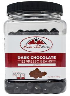 Gourmet Dark Chocolate covered Espresso Beans 1 lb