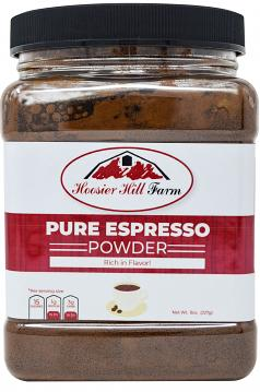 Hoosier Hill Farm Pure Espresso Powder 8 oz.