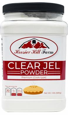 Hoosier Hill Farm Clear Jel (cook-type), 1.5 Lbs.