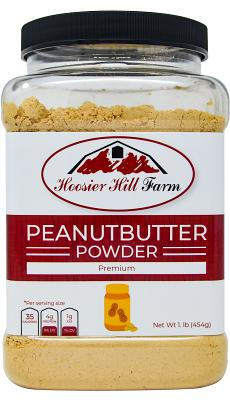 Peanut Butter Powder by Hoosier Hill Farm, 1 lb.