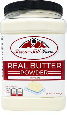 Hoosier Hill Farm Real Butter powder, 2 Lb