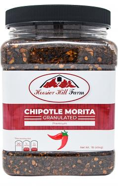 Hoosier Hill Farm Granulated Chipotle Chiles , 1 lb Jar