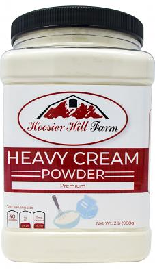 Hoosier Hill Farm Heavy Cream Powder Jar, 2 Lb