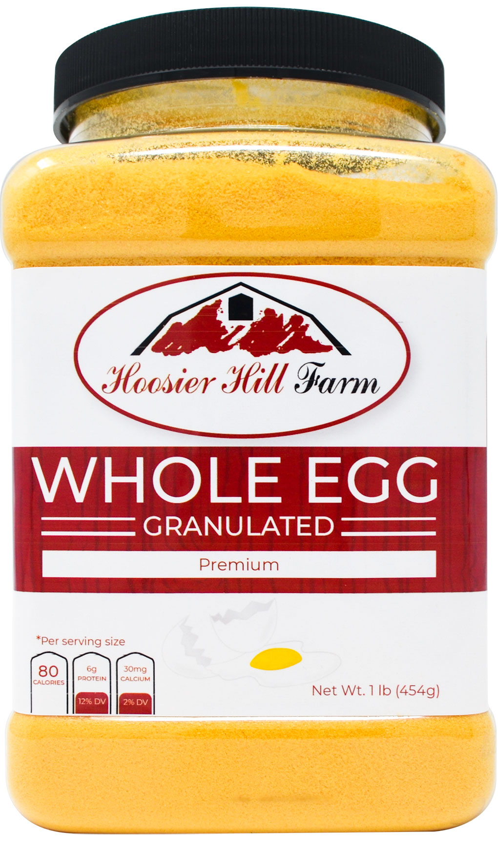 Hoosier Hill Farm Whole Granulated Eggs 1 Lb Baking Cooking