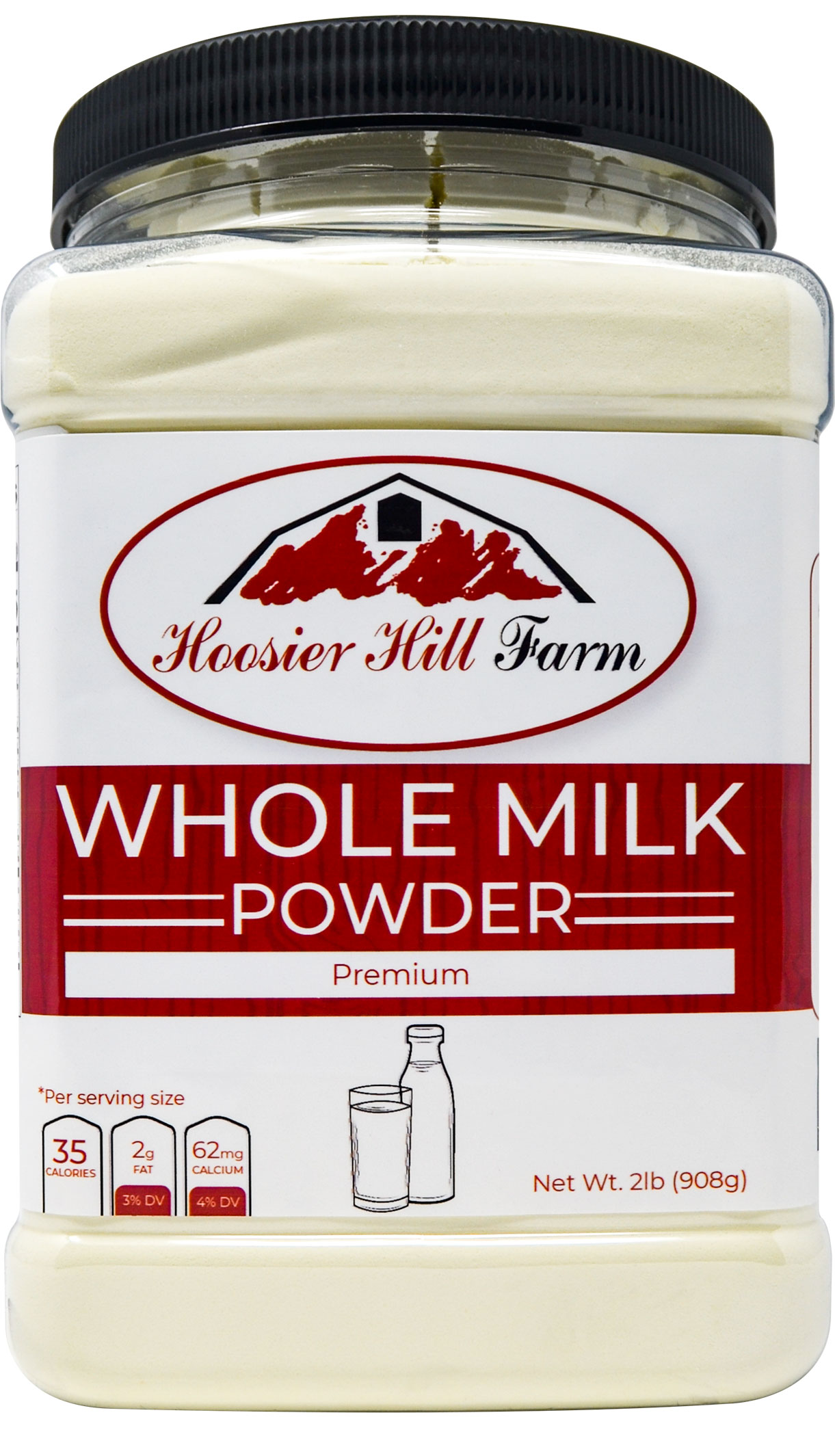 Hoosier Hill Farm Whole Milk Powder 2 lbs