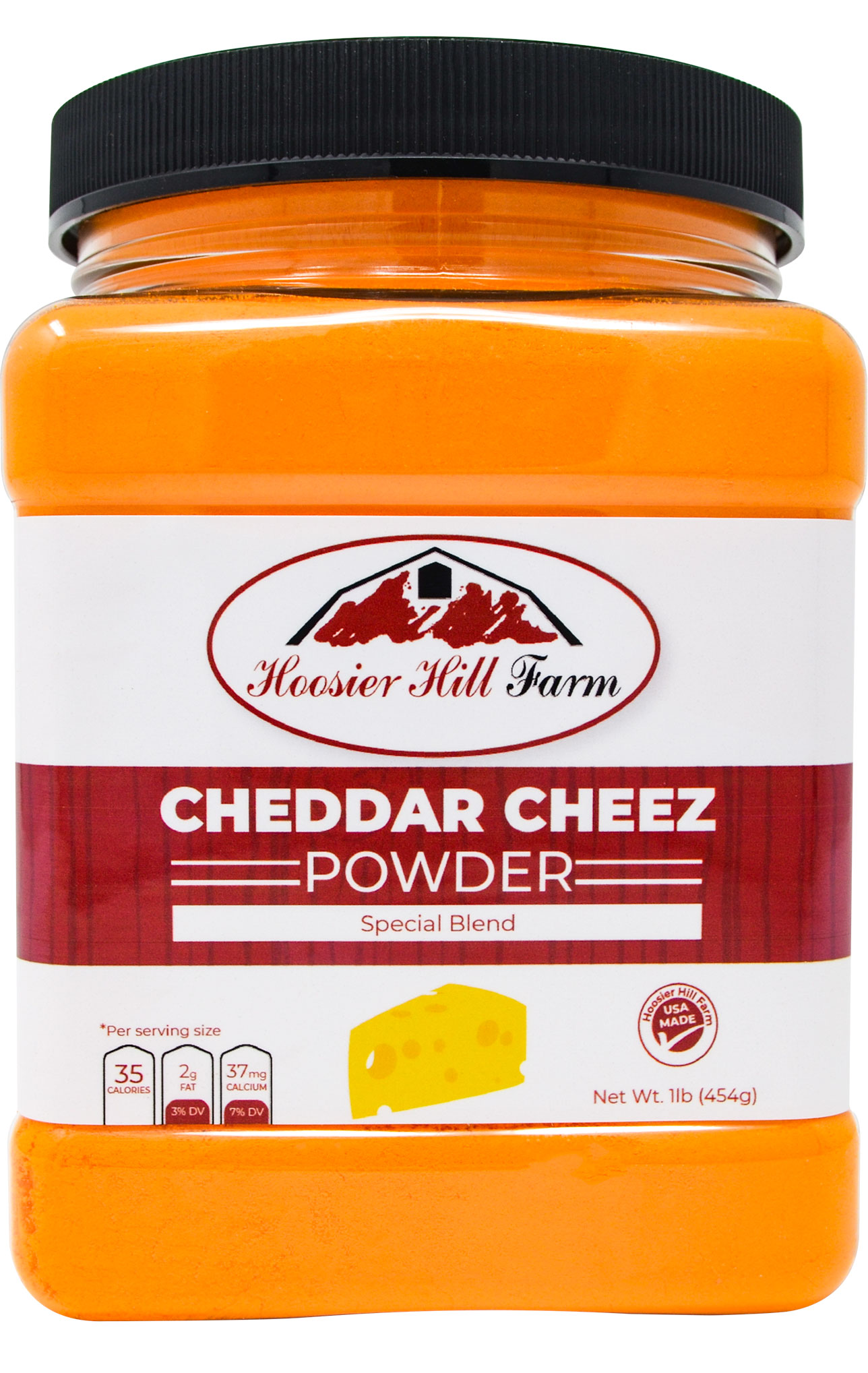 Hoosier Hill Farm Cheddar Cheez Powder, 1 Pound