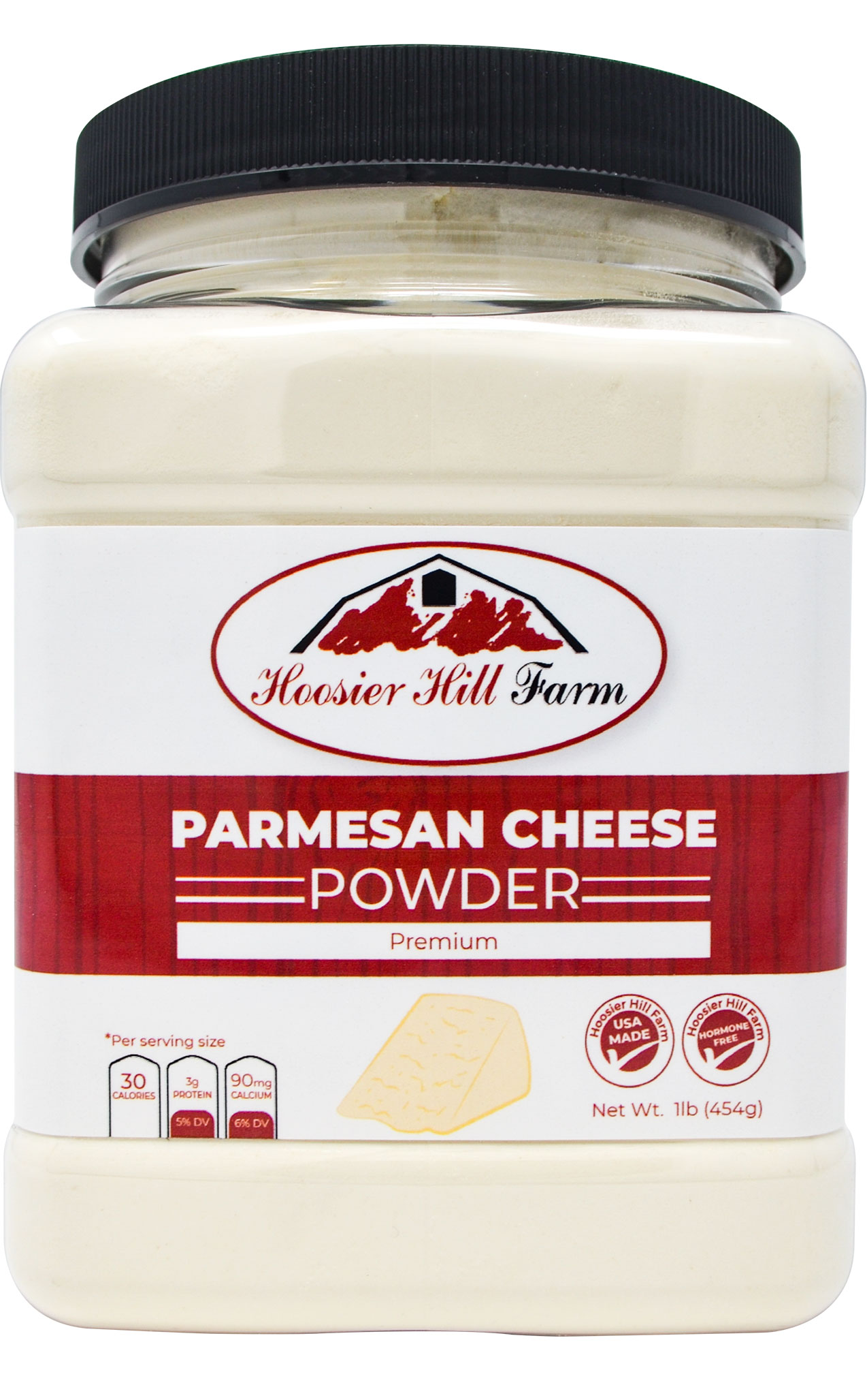 Parmesan Cheese powder by Hoosier Hill Farm, 1 lb.