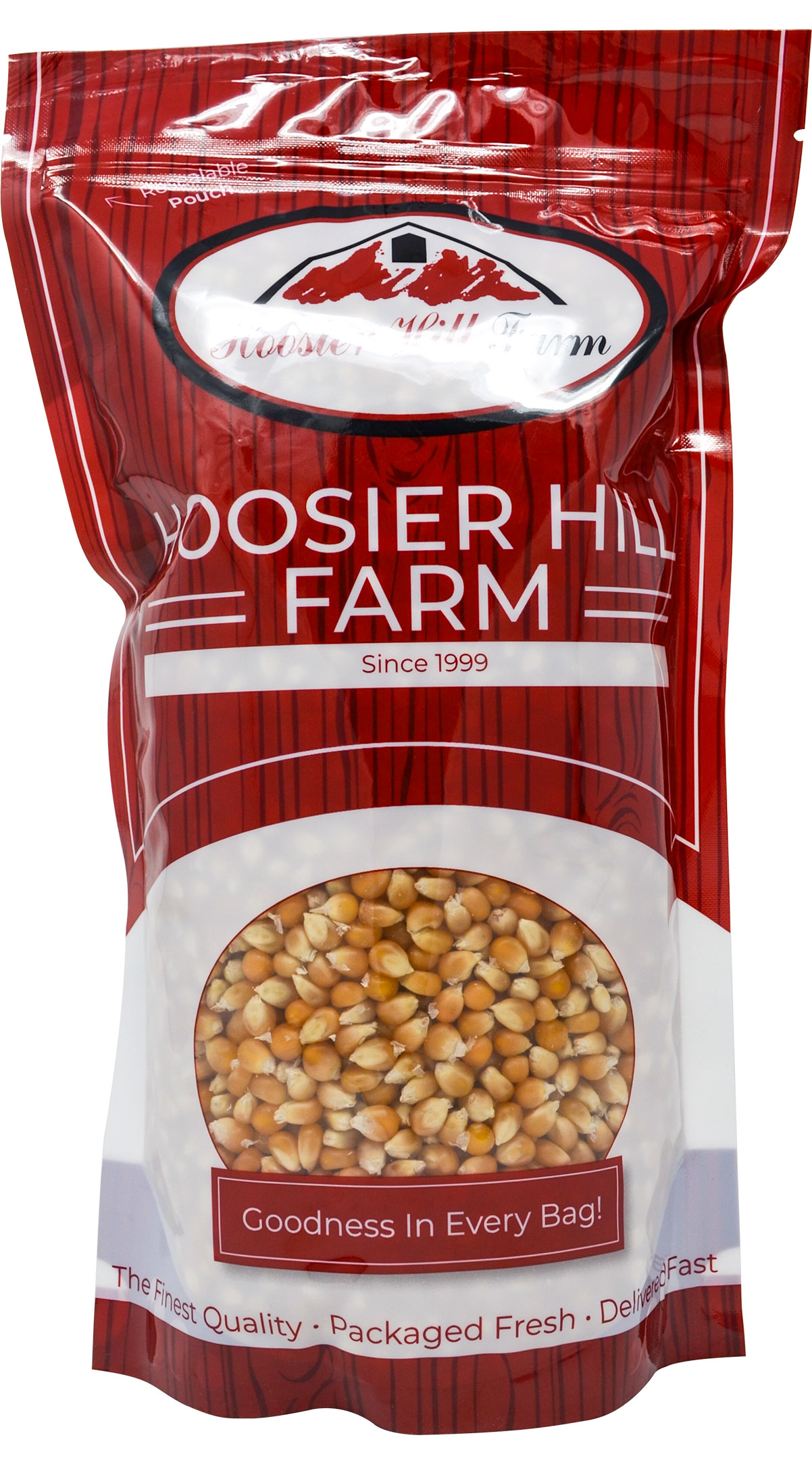 Hoosier Hill Farm Gourmet Popcorn Huge 6 lb. Family Size (Original Yellow)