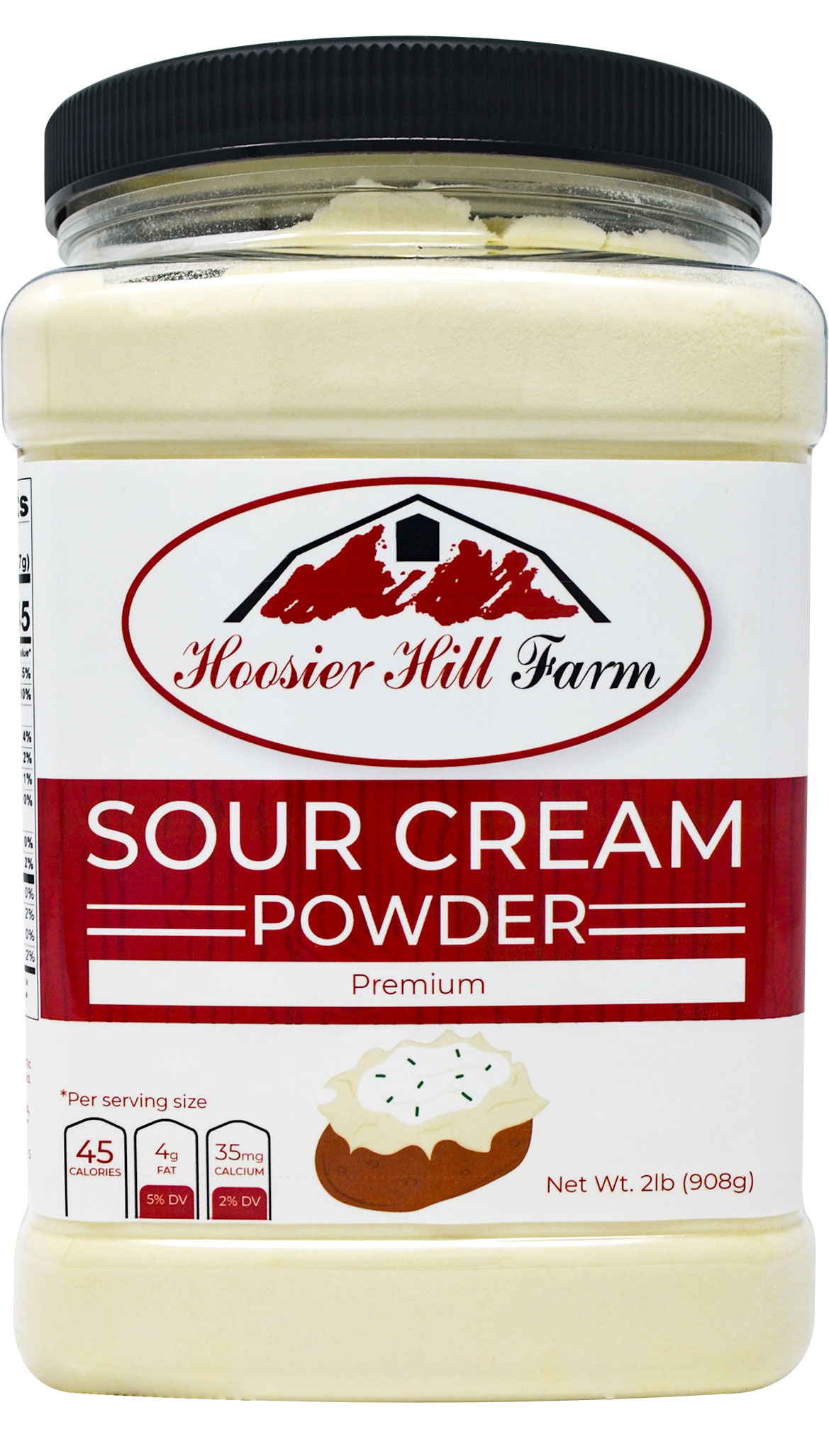 Hoosier Hill Farm Sour Cream Powder, 2 Lb