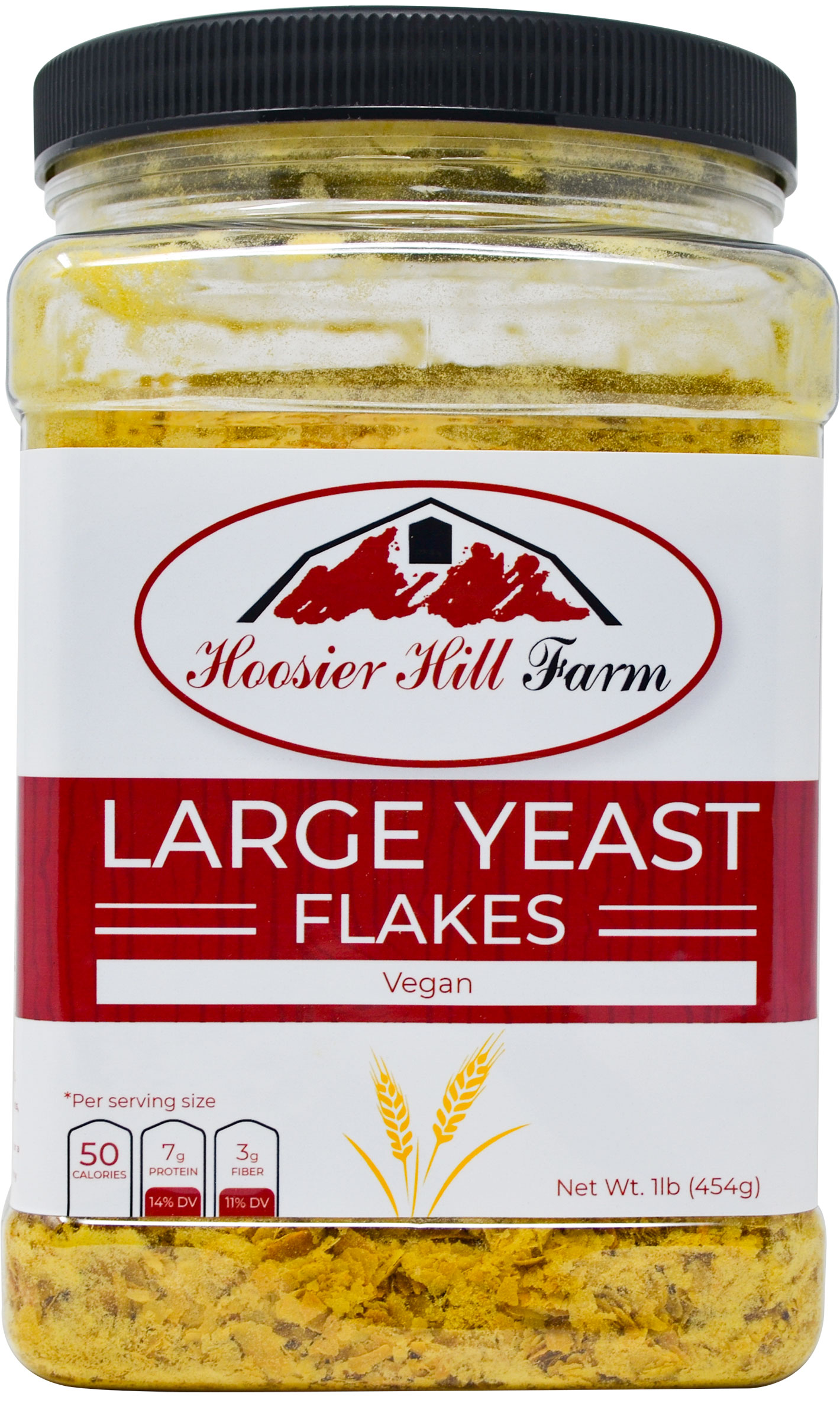Hoosier Hill Farm Nutritional Yeast Flakes, 1 Lb
