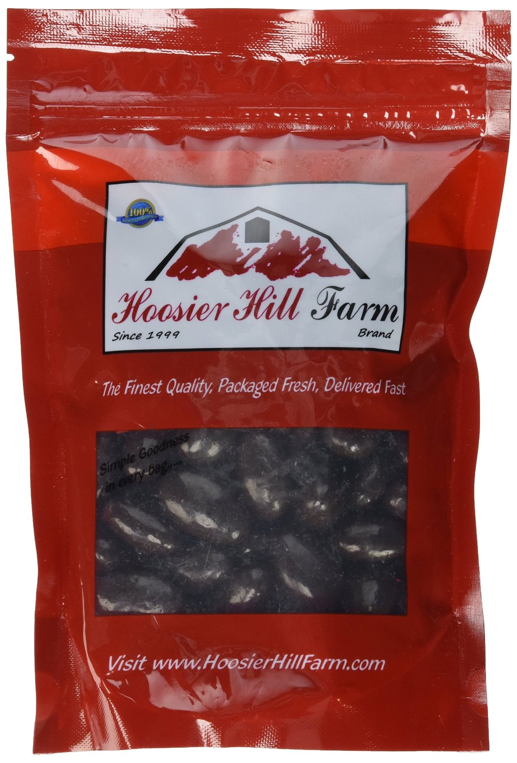 Dark Chocolate Almonds (1 lb bag)