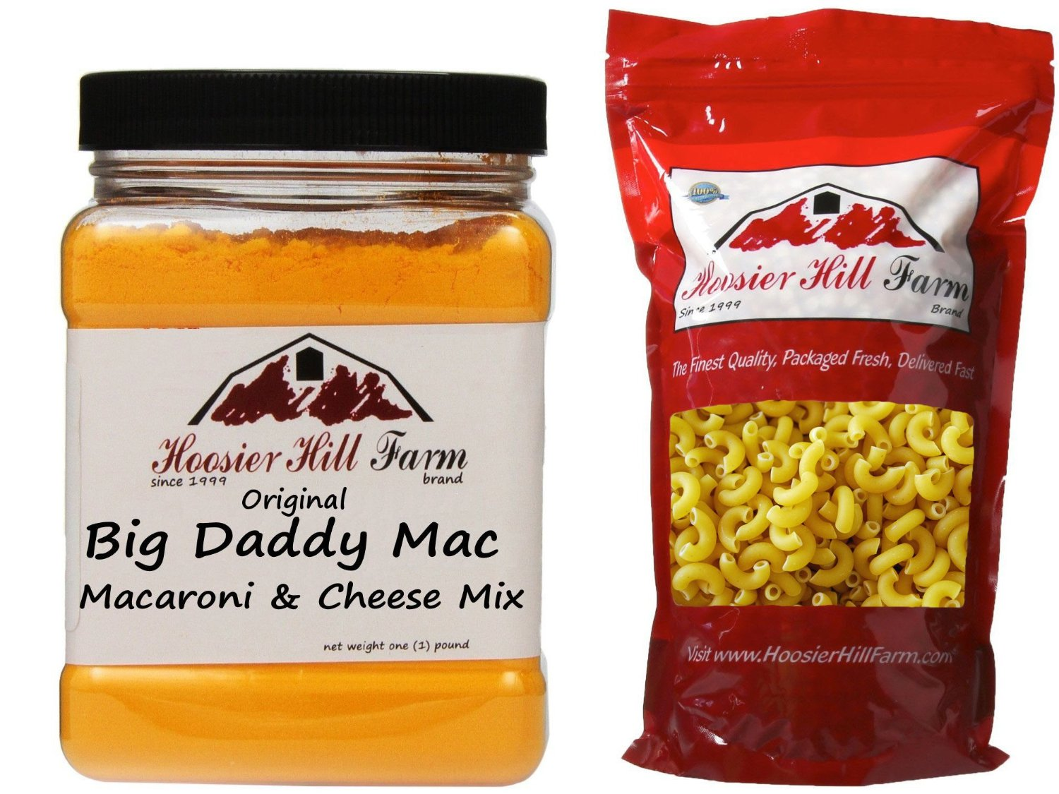 Big Daddy Mac Pac - Kit contains Big Daddy Mac mix and Elbow Noodles - Great Mac N' Cheese