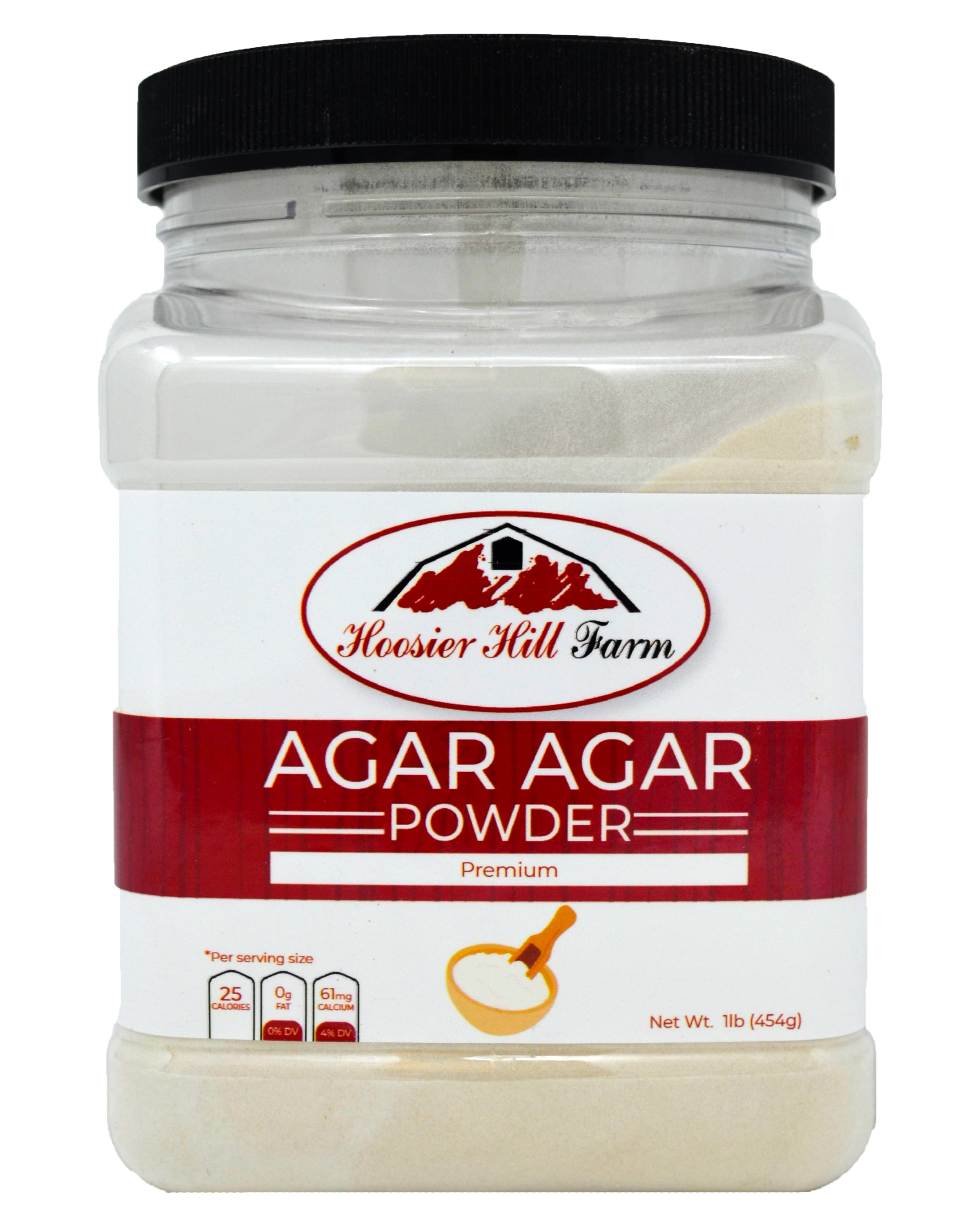 Hoosier Hill Farm Agar Agar powder, 1 lb.