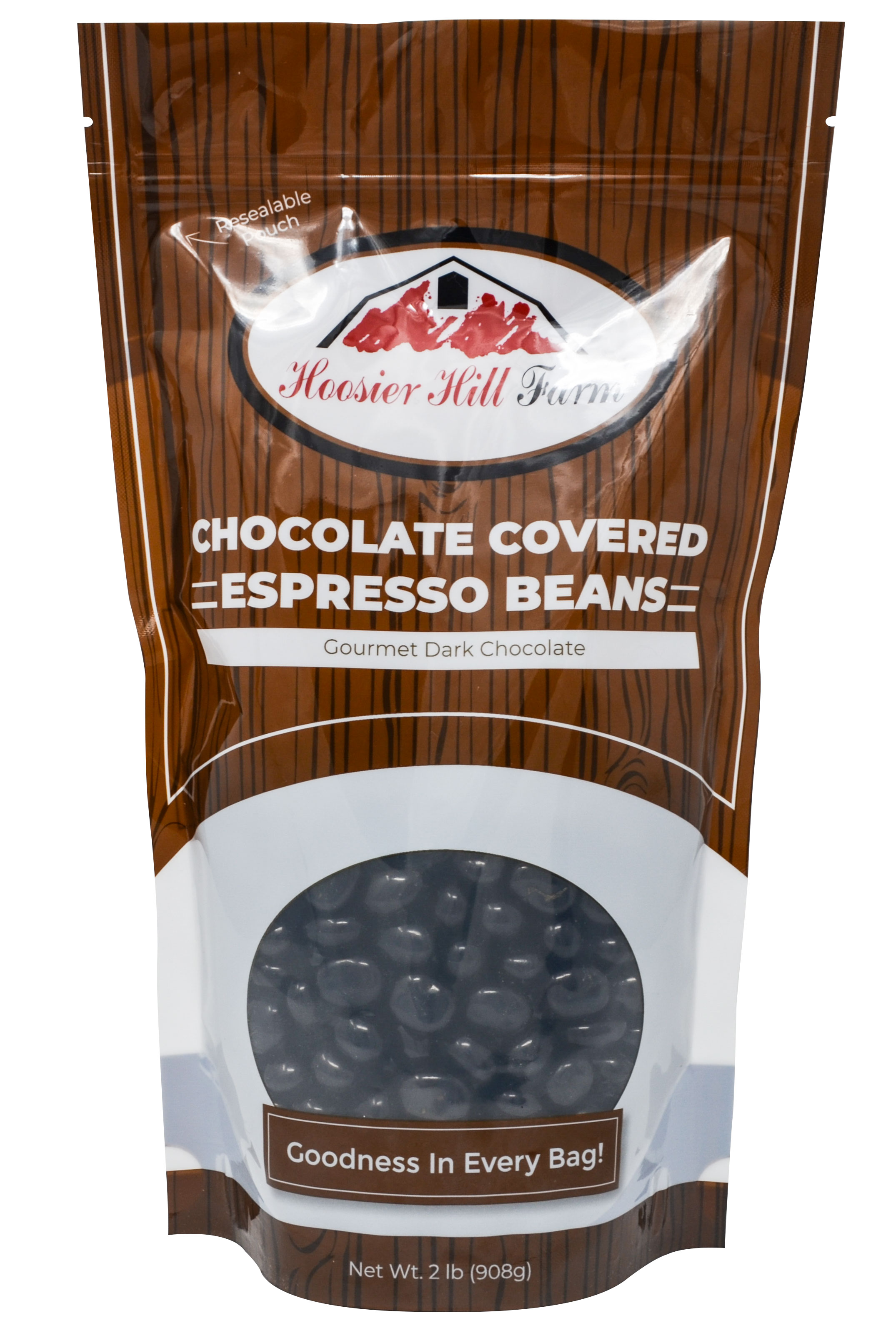 Dark Chocolate covered Espresso Beans (2 lb Bag)