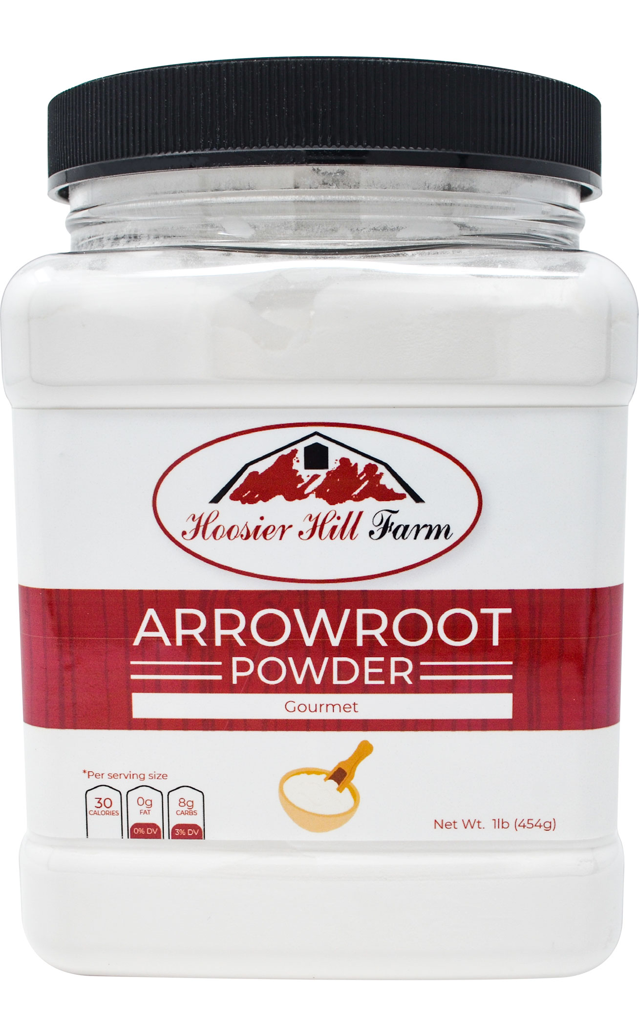 Hoosier Hill Farm Premium Arrowroot Powder, 1 Lb.
