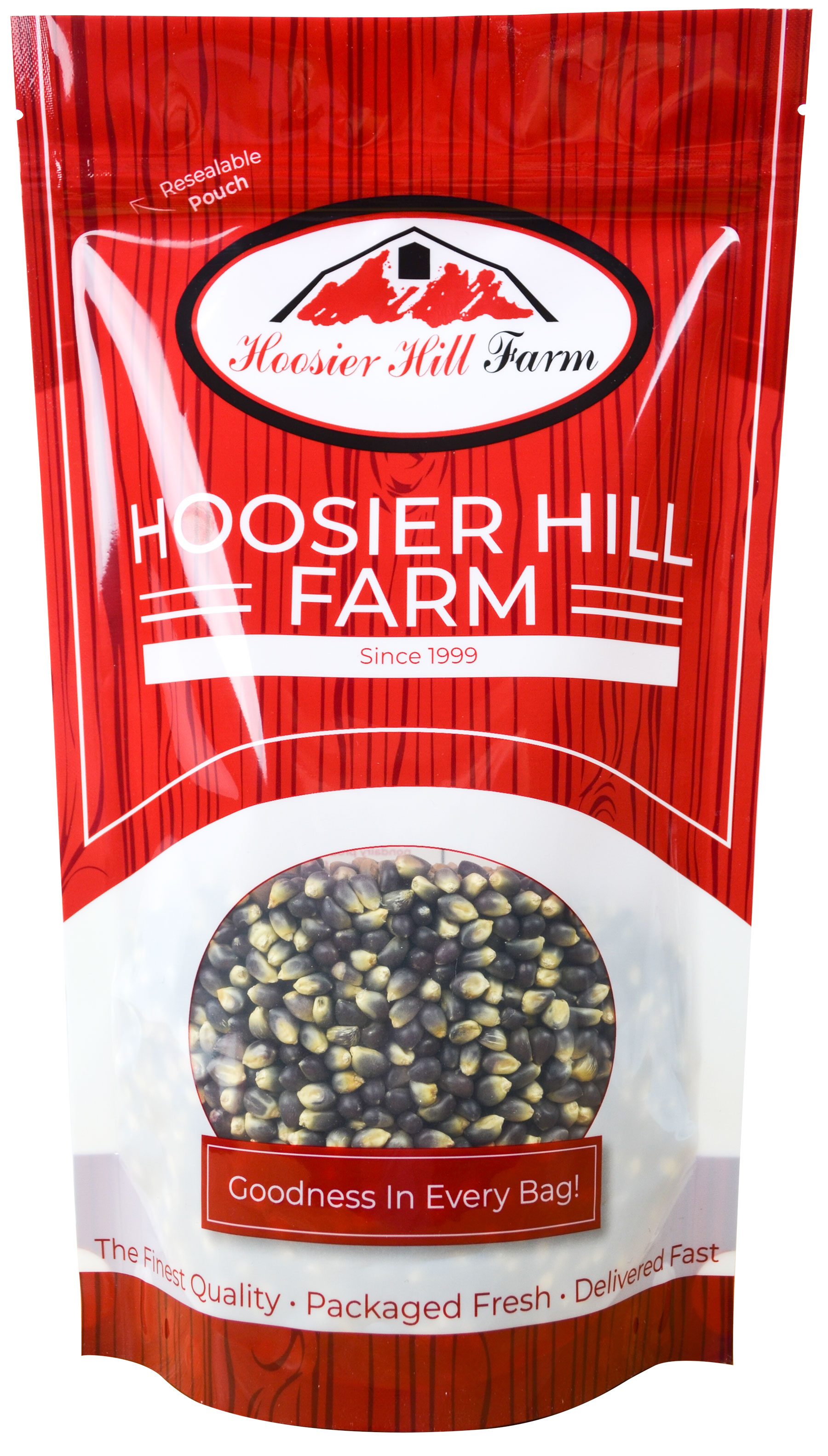 Hoosier Hill Farm Gourmet Popcorn Huge 6 lb. Family Size (Persian Blue)