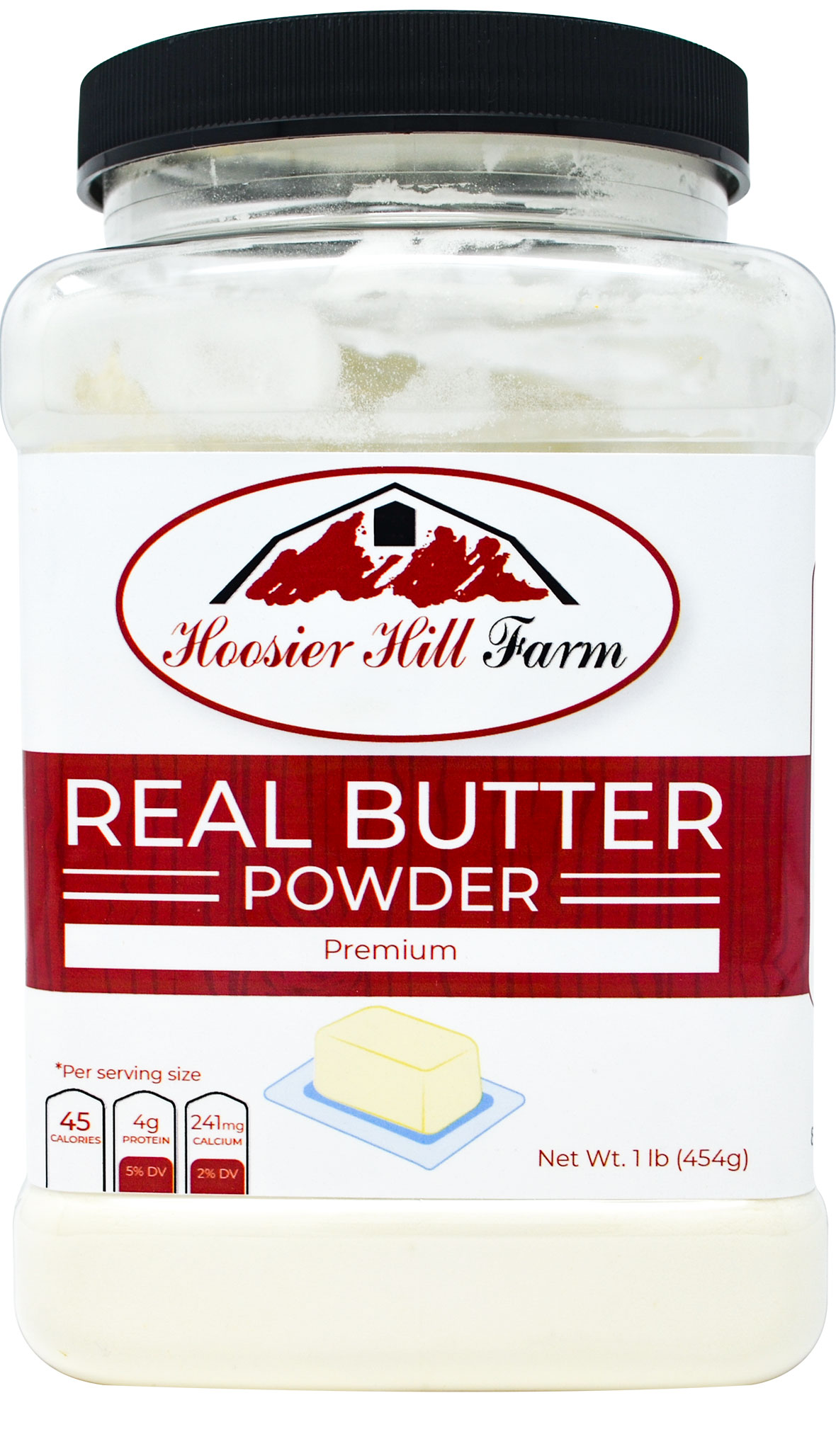 Hoosier Hill Farm Real Butter powder, 1 lb