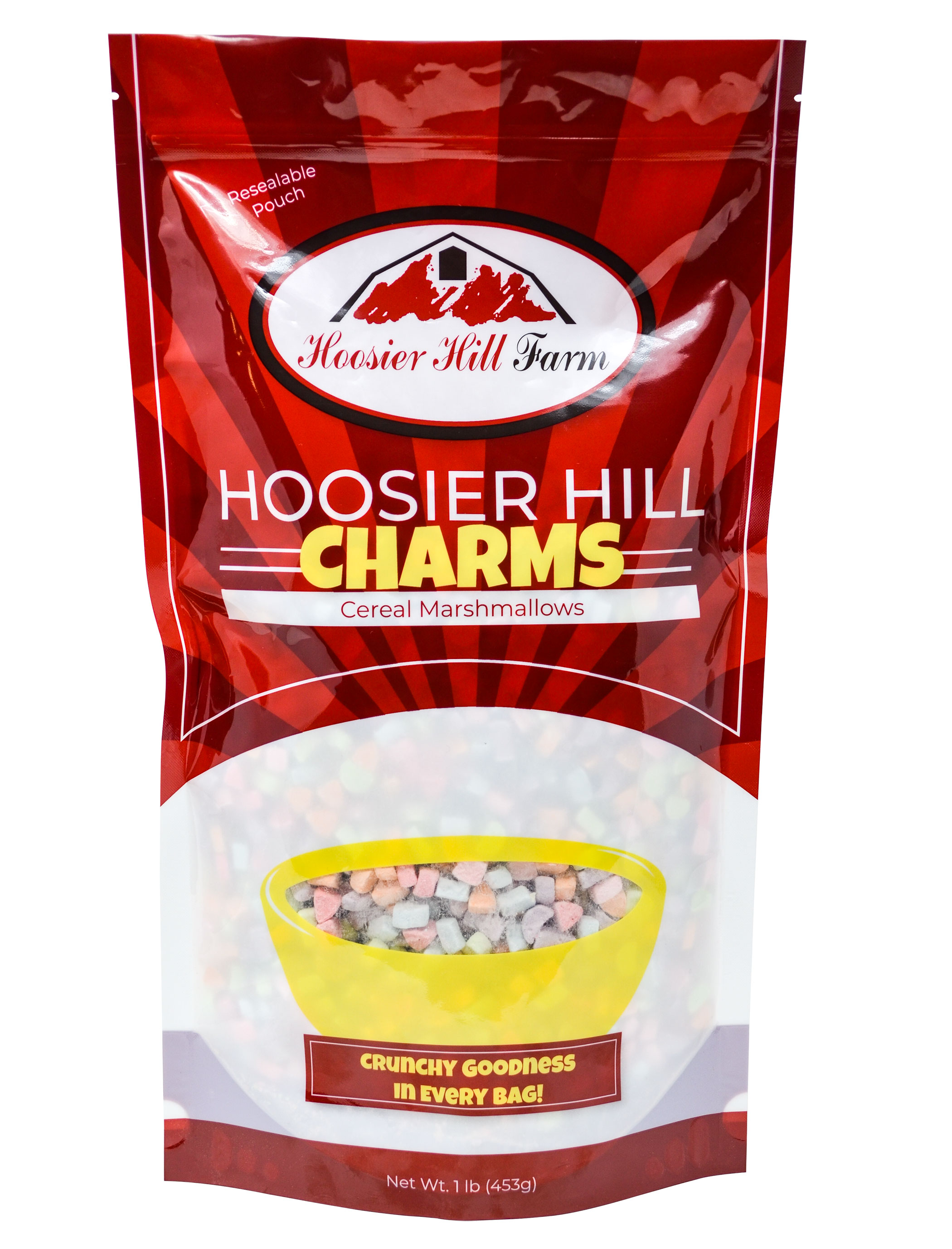 Hoosier Hill Charms Cereal Marshmallows, 1 Pound