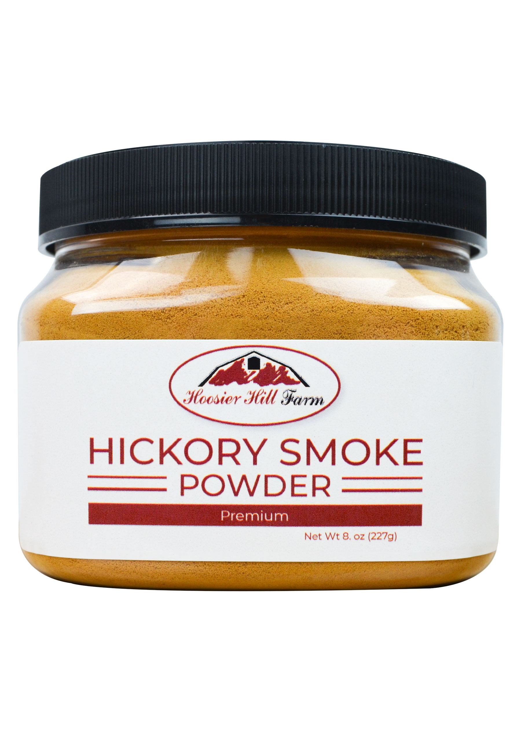 Hoosier Hill Farm Hickory Smoke Powder , 8 oz.