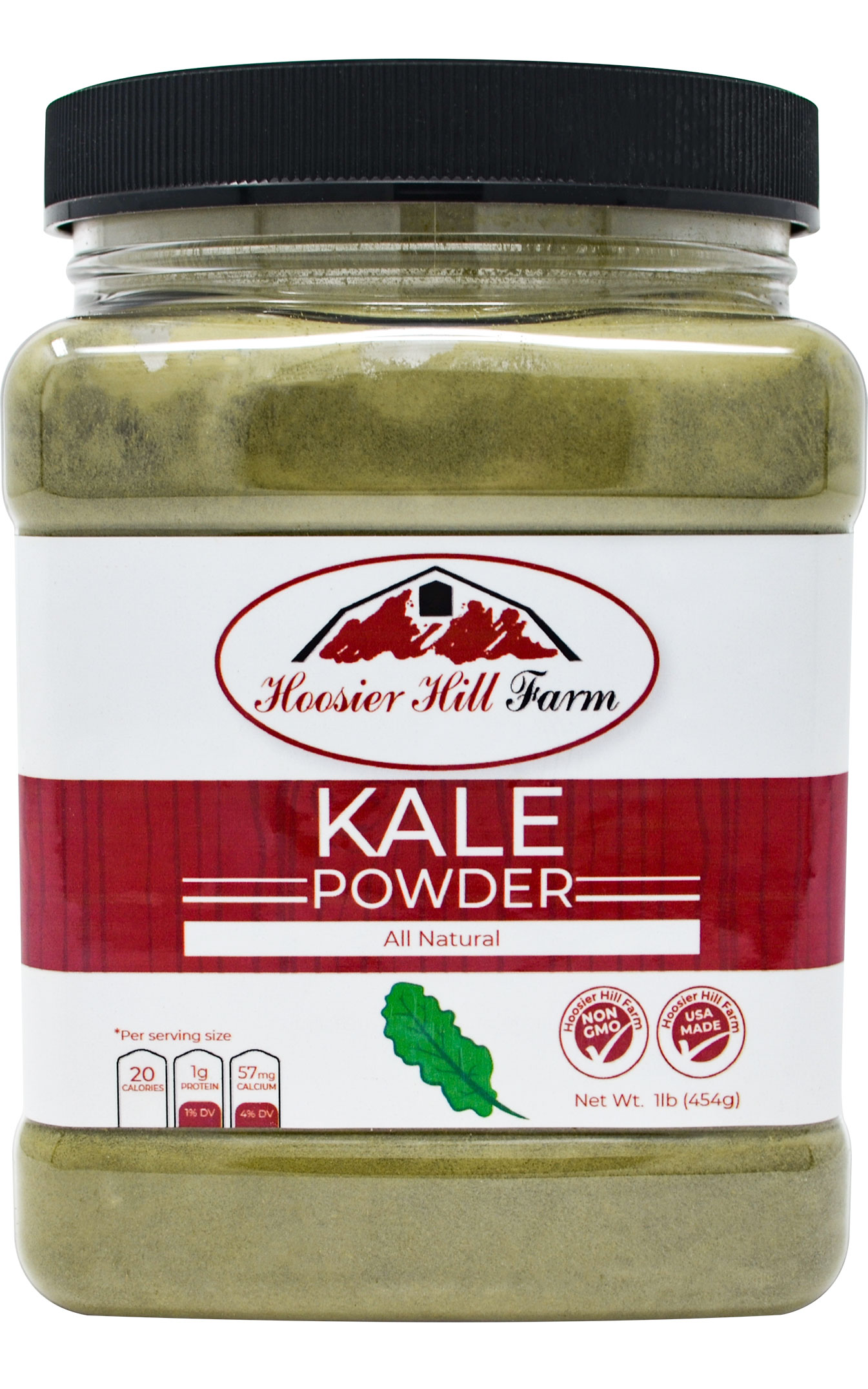 Hoosier Hill Farm All Natural Kale powder, 1 lb