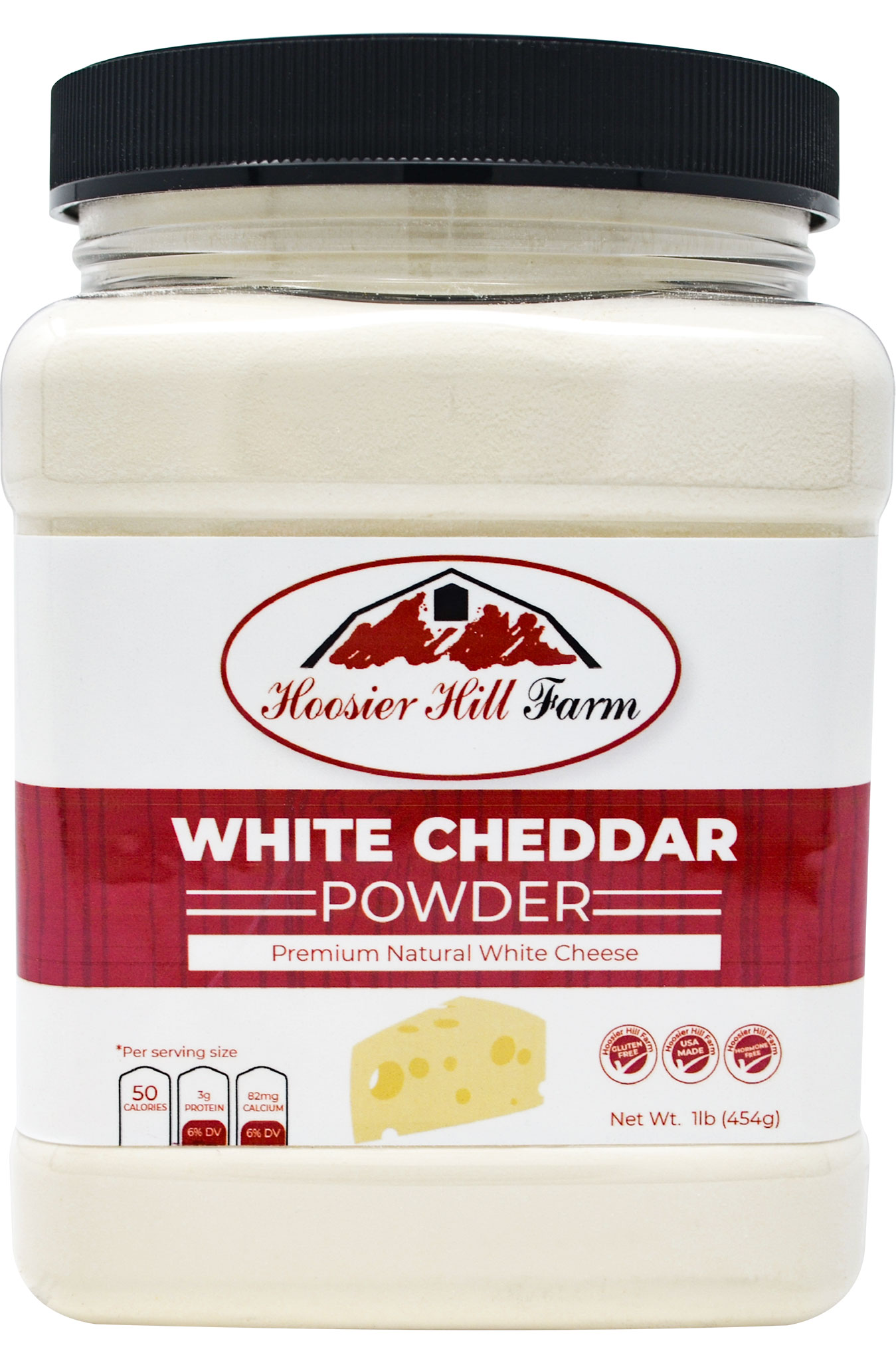 Premium White Cheddar Cheese Powder, Natural (1 lb)