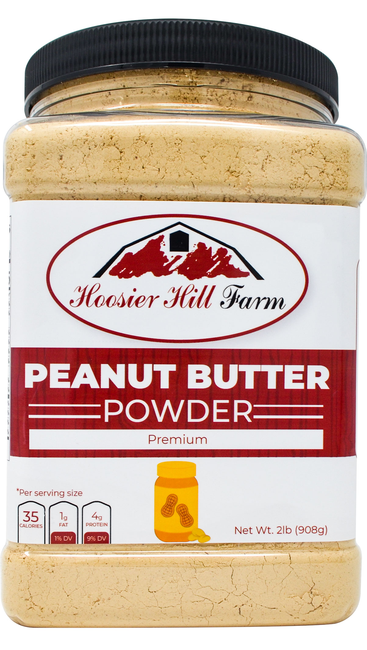 Hoosier Hill Farm Peanut Butter Powder 2 lbs