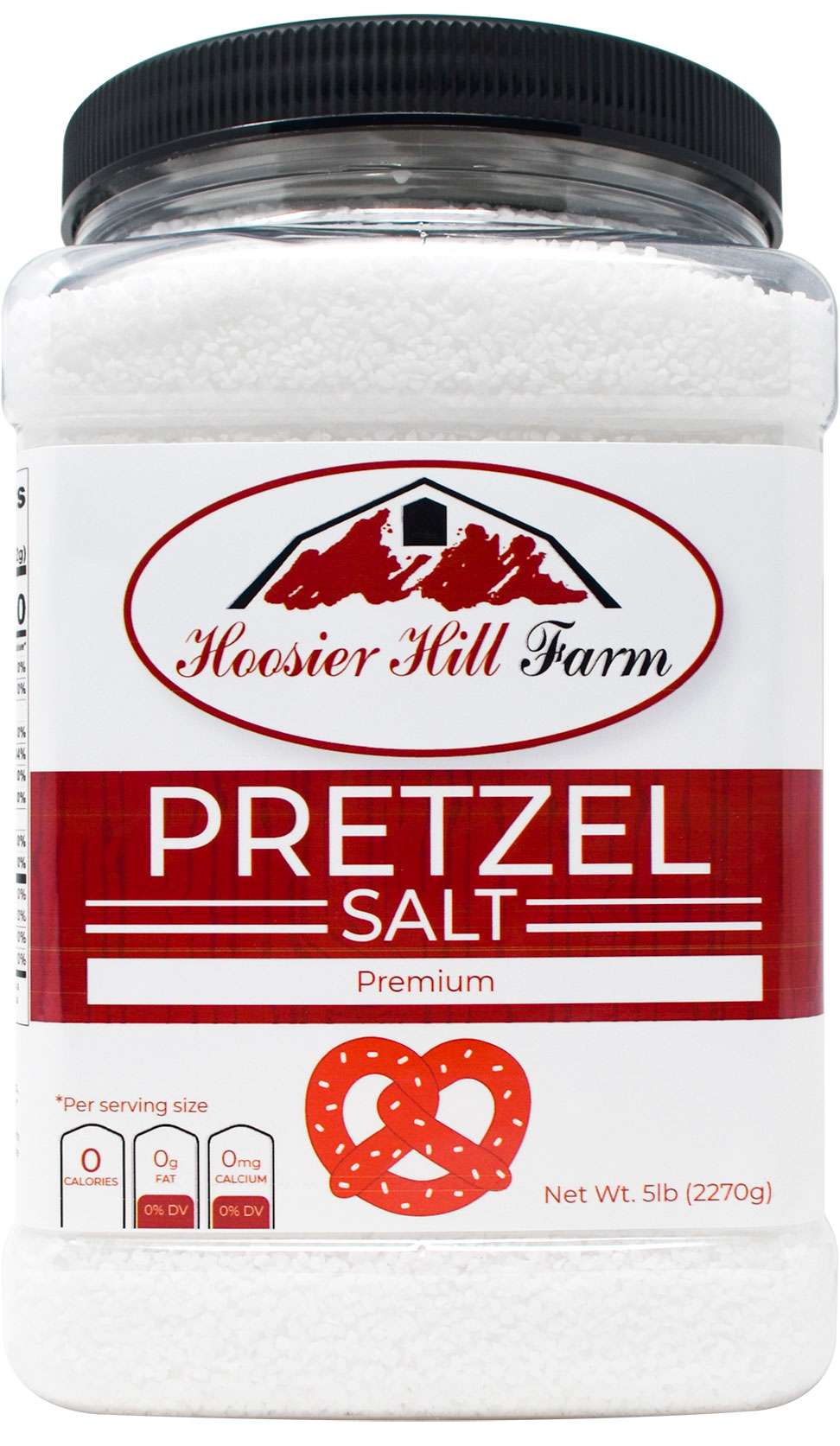 Hoosier Hill Farm Coarse Pretzel Salt, 5 lbs