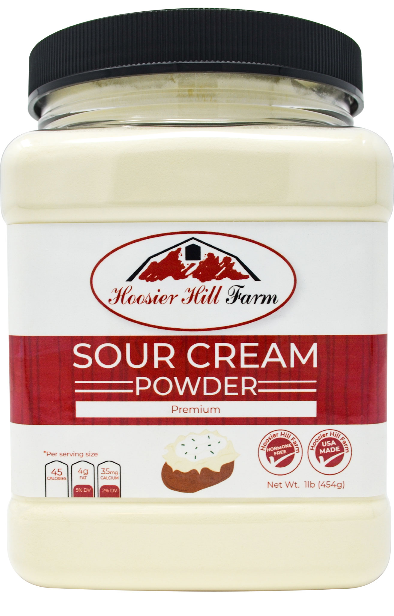 Hoosier Hill Farm Sour Cream Powder, 1 lb.