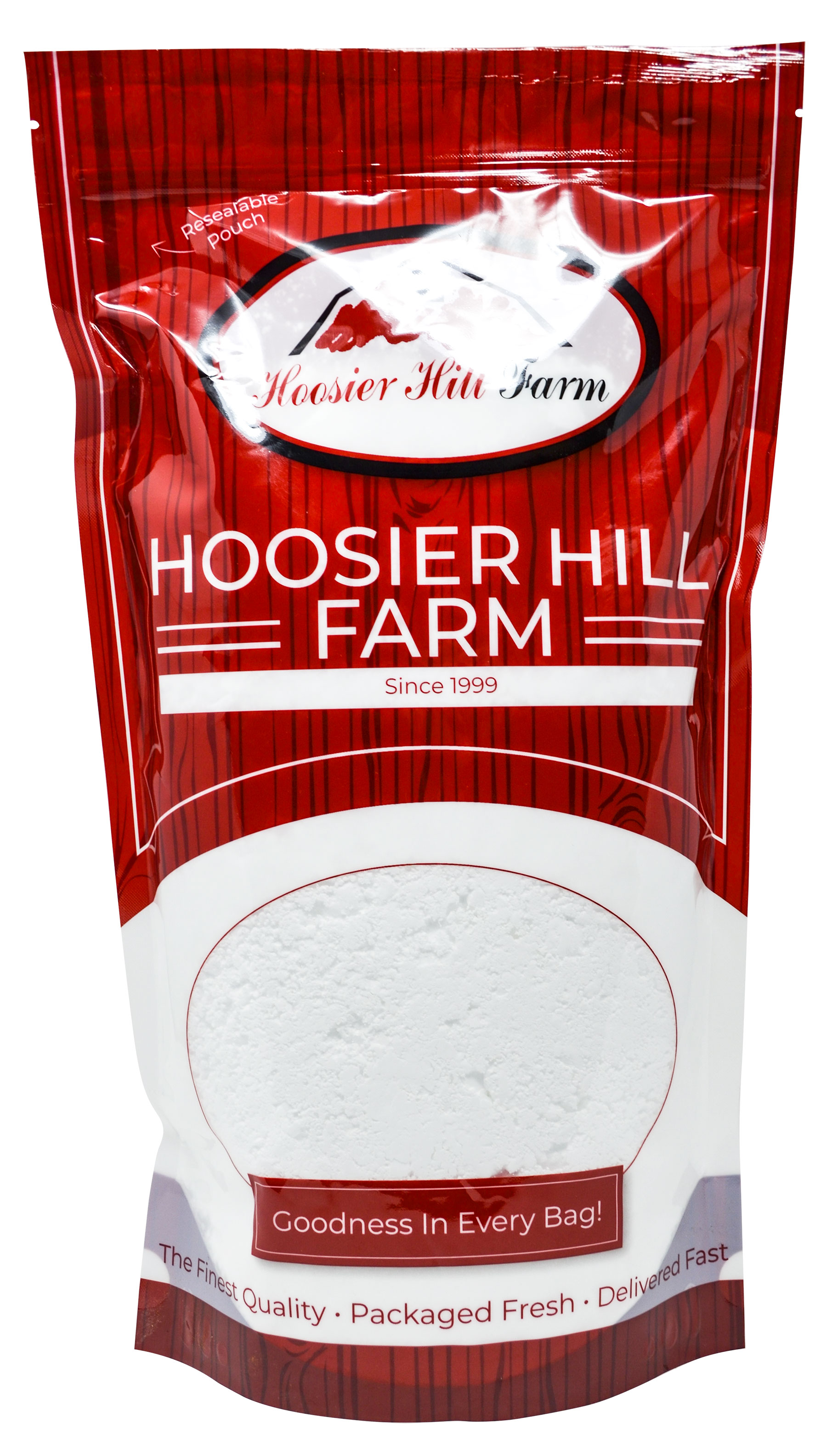 Hoosier Hill Bakers Bags, Bulk Sizes (Clear Jel - Instant / 8lbs)