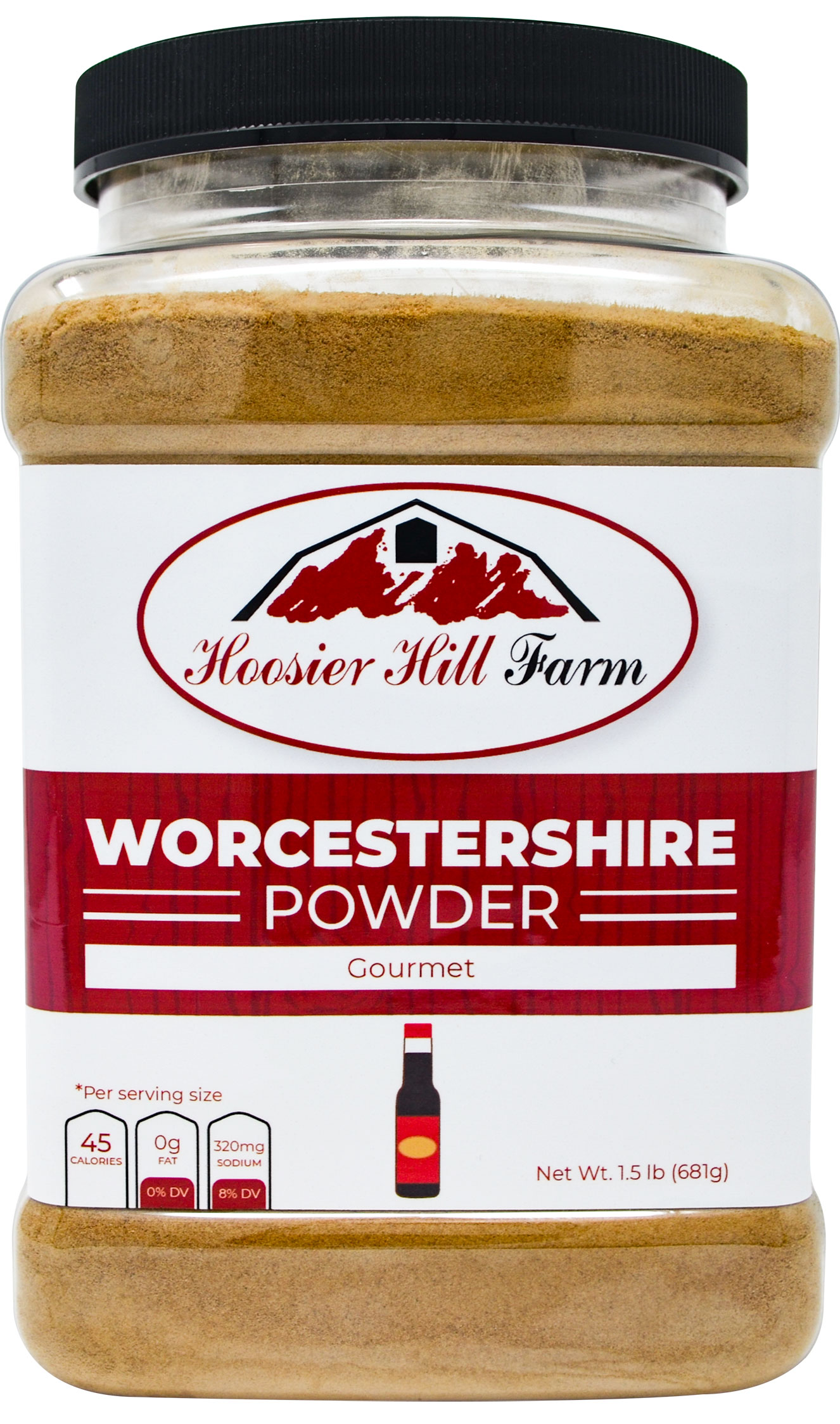 Hoosier Hill Farm Worcestershire Sauce Powder, 1.5 lb