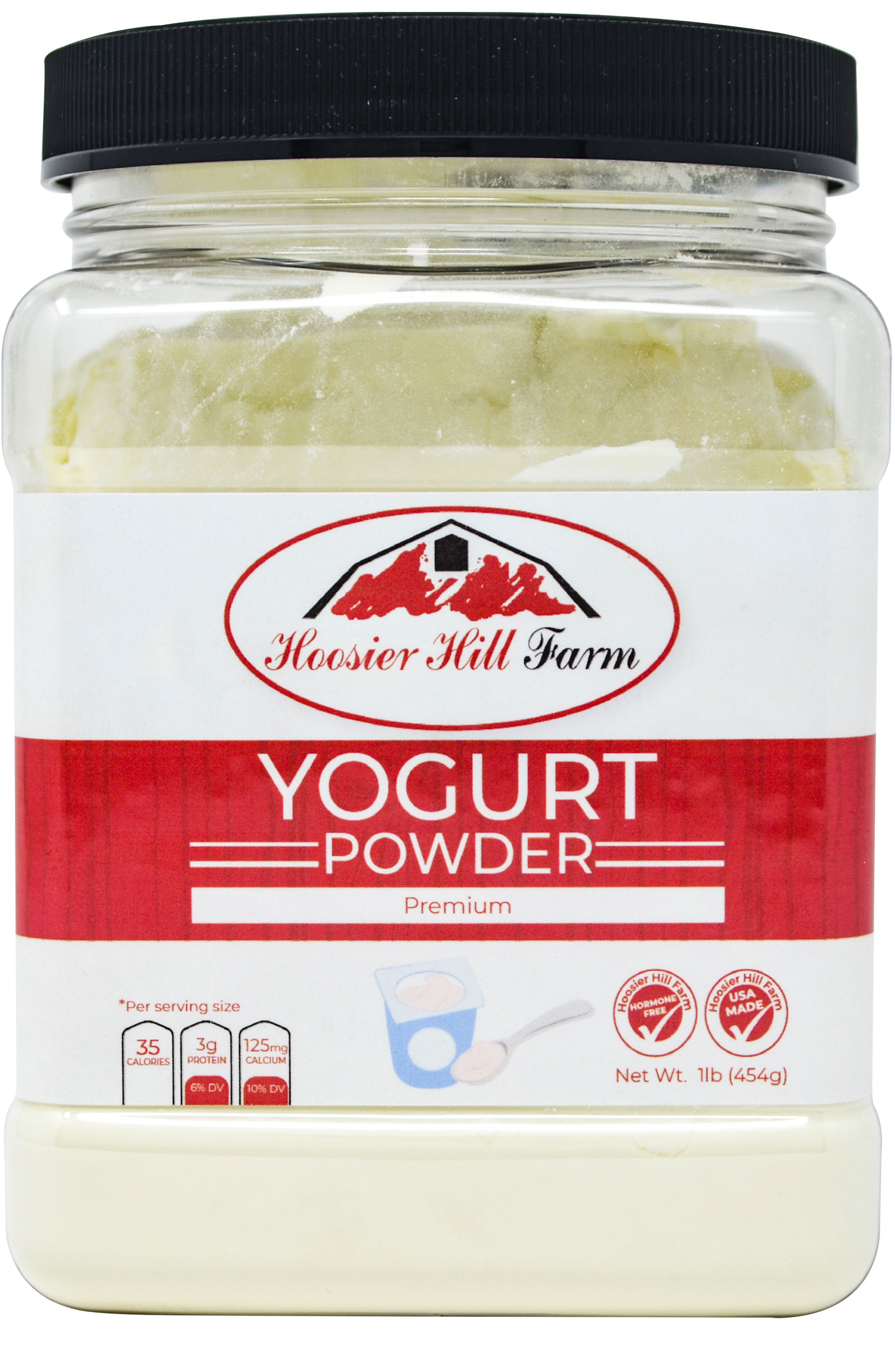 Premium Yogurt Powder by Hoosier Hill Farm 1 lb