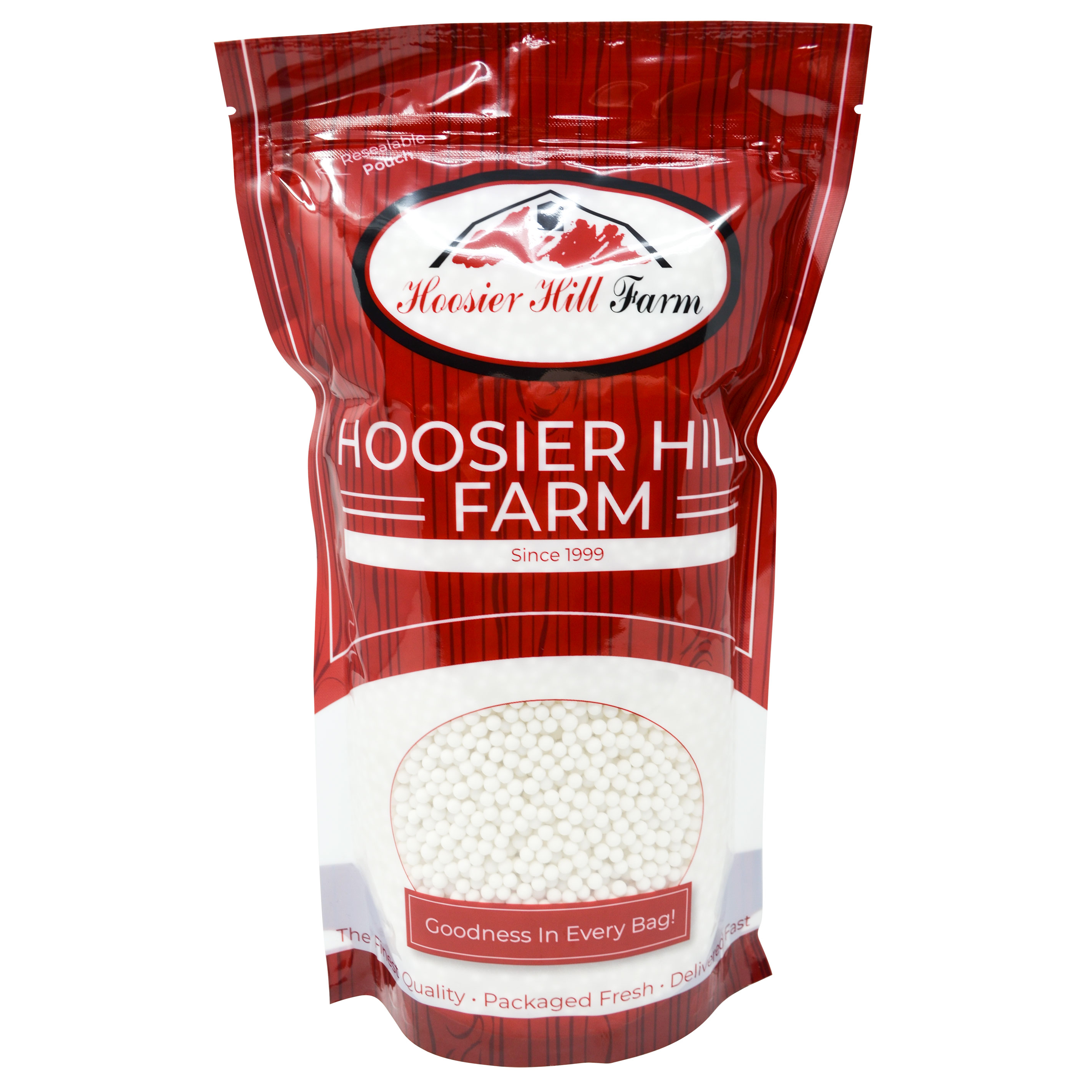 Hoosier Hill Farm Large #40 Tapioca Pearls Baker's Bag 5 lbs.